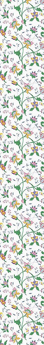 Papier peint design Little Flower Fantasy White