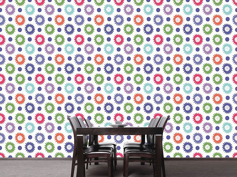 Pattern Wallpaper Party Stars