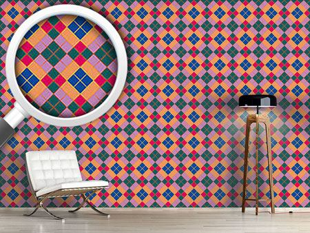 Pattern Wallpaper Tartano