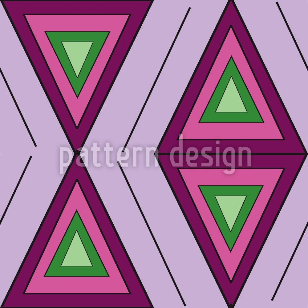 Papier peint design The Colors Of The Triangles
