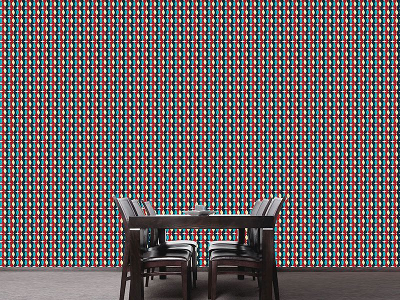 Pattern Wallpaper Chains Of Colored Sequences