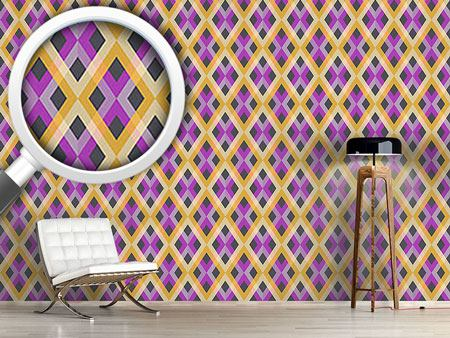 Pattern Wallpaper Check Deluxe