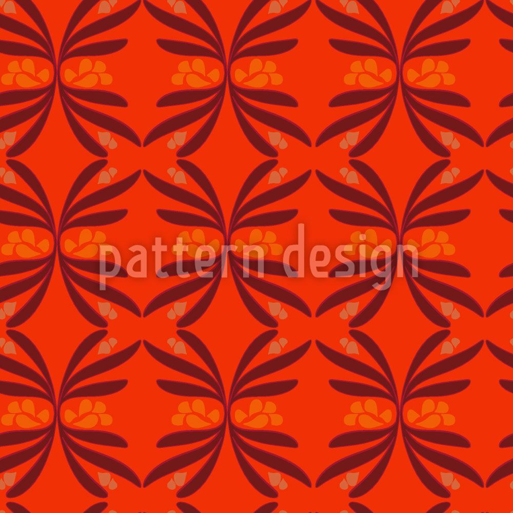 Papier peint design Retro Swirls