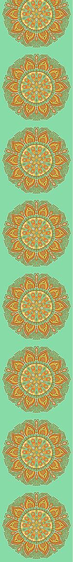 Pattern Wallpaper Autumn Mandala