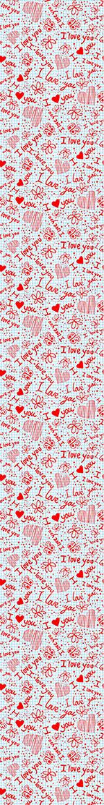 Papier peint design Love Confessions In School