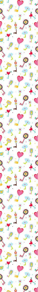 Pattern Wallpaper The Keys To The Childrens Hearts