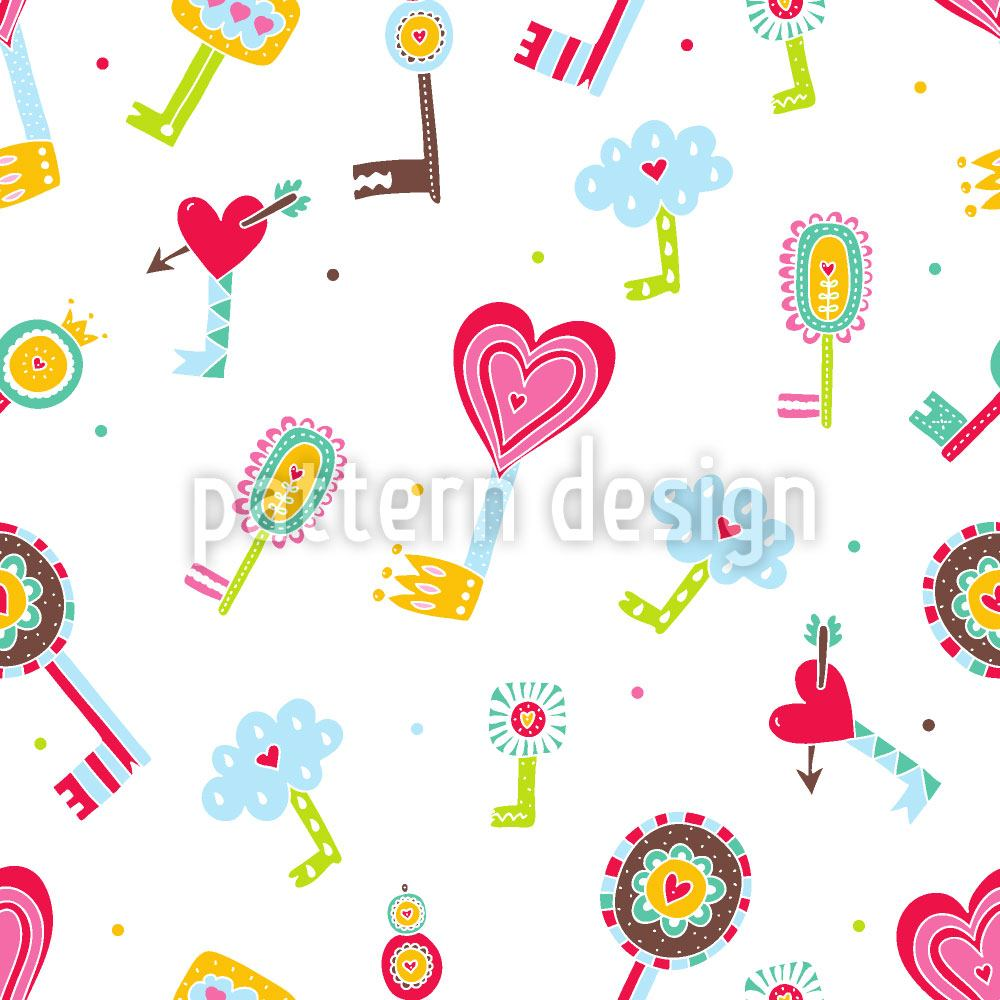 Papier peint design The Keys To The Childrens Hearts