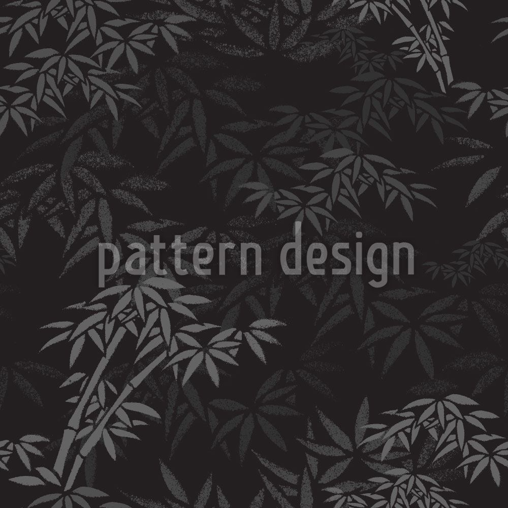 Pattern Wallpaper Night In The Bamboo Forest