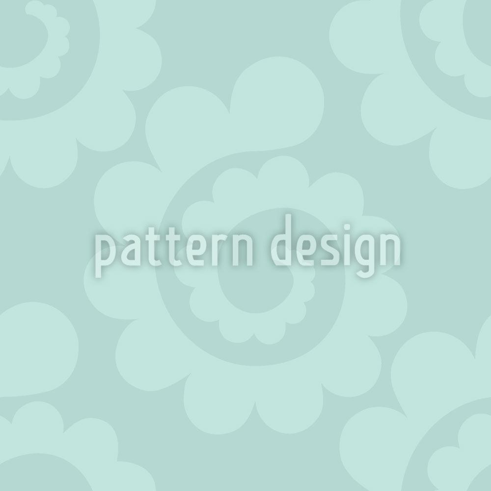Pattern Wallpaper Water Spirals