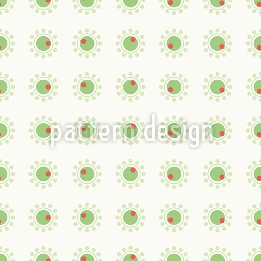 Pattern Wallpaper Small Olives