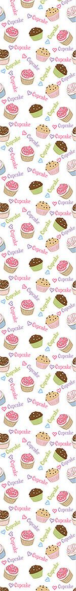 Pattern Wallpaper I Love Cupcakes