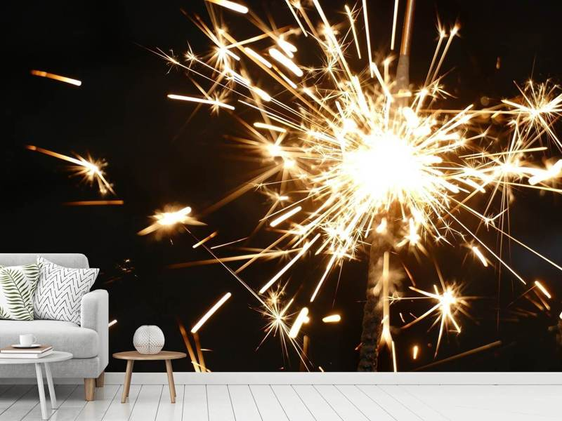Photo Wallpaper A sparkler