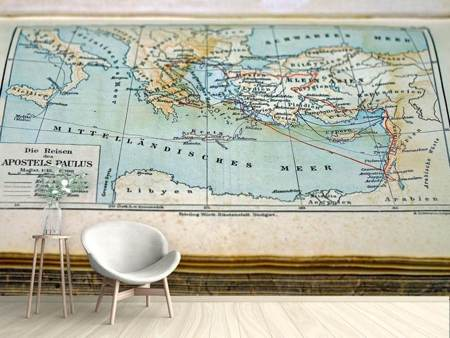 Photo Wallpaper Antique map