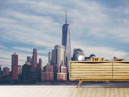 Fotomurale Nuvole al World Trade Center
