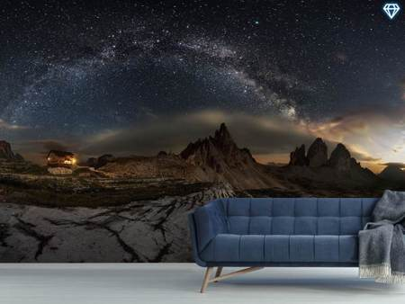 Photo Wallpaper Galaxy Dolomites