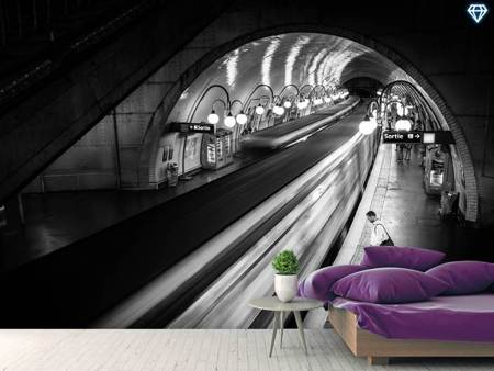 Photo Wallpaper Paris Metro