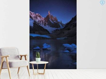 Photo Wallpaper Laguna Torre - A Frozen Night