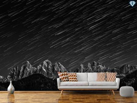 Photo Wallpaper Starfall In The Dolomites