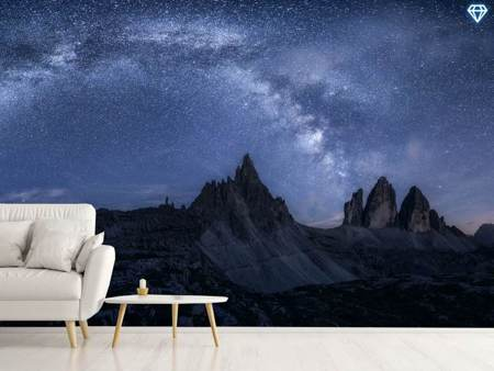 Photo Wallpaper Stars In The Dolomites