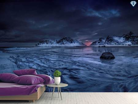 Photo Wallpaper Skagsanden Beach Lofoten