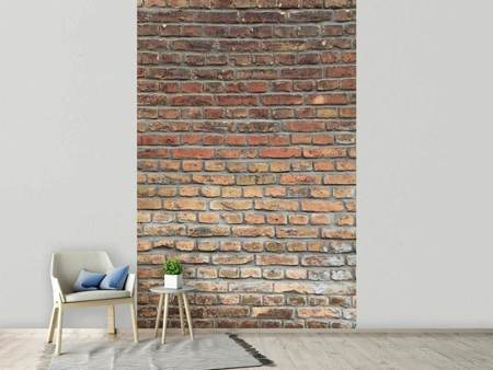 Fotobehang Red Brick Wall
