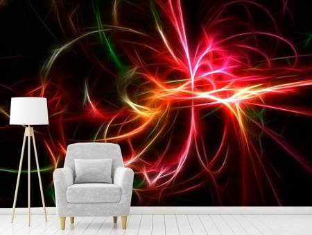 Photo Wallpaper Fraktally Light Spectacle