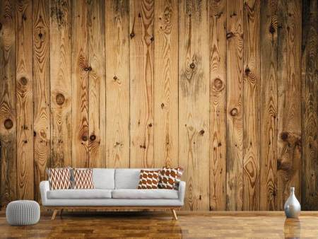 Fotobehang Walnut Wood