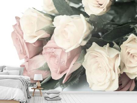 Photo Wallpaper Romantic Rose