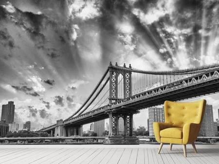 Fotobehang Manhattan Bridge