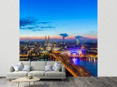 Fotobehang Skyline A Penthouse In Cologne