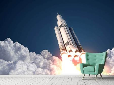 Photo Wallpaper Rocket Start