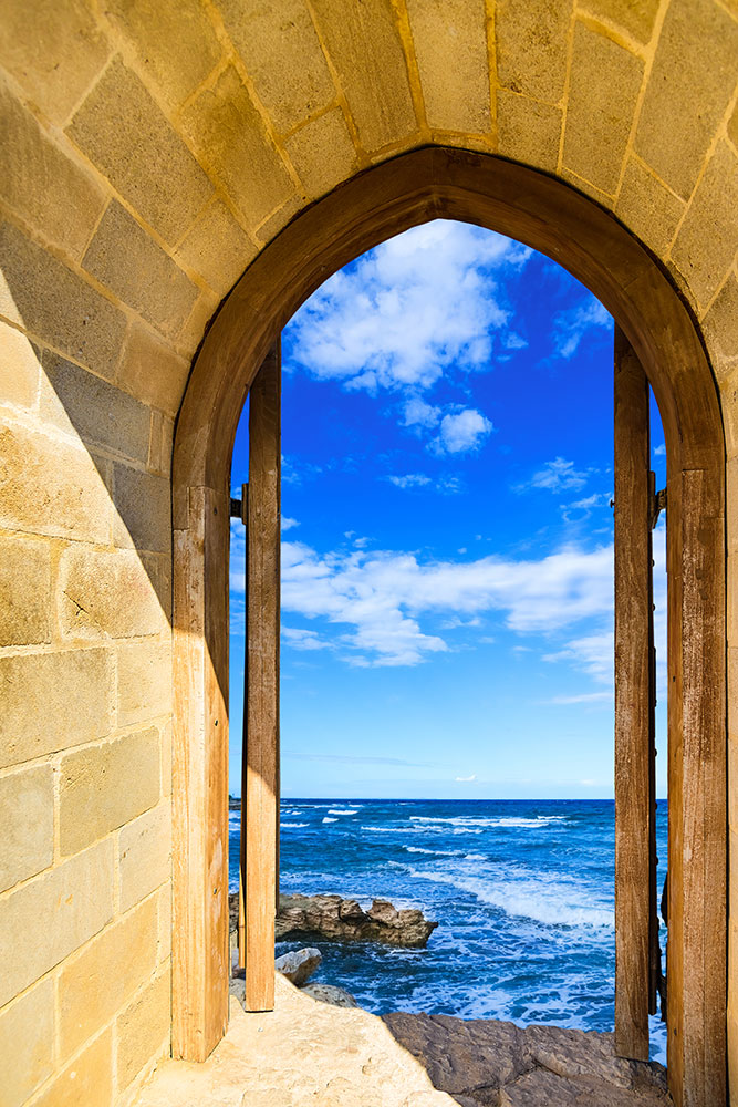 Photo Wallpaper The Gate To The Sea